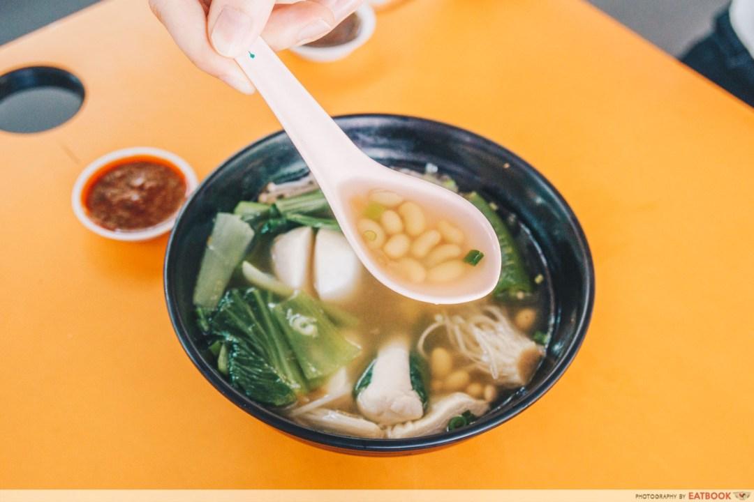 Soy Beans Yong Tau Foo Soup