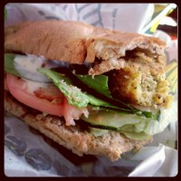 Food Review: Subway's NEW Falafel Sandwich
