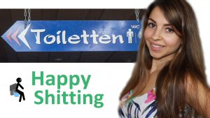 happy shitting