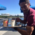 Where to find Brisbane's best coffee with a view on the Goodwill Bridge