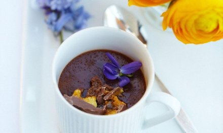 Easy Tea-infused Chocolate Pot recipe