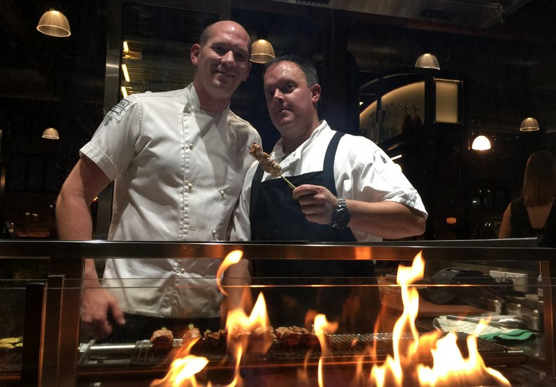 Flames are roaring at Burnt Ends Kitchen & Bar