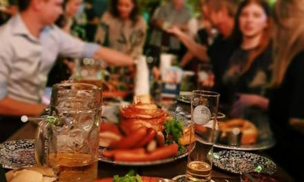 Everyday is Oktoberfest at this South Bank bier hall