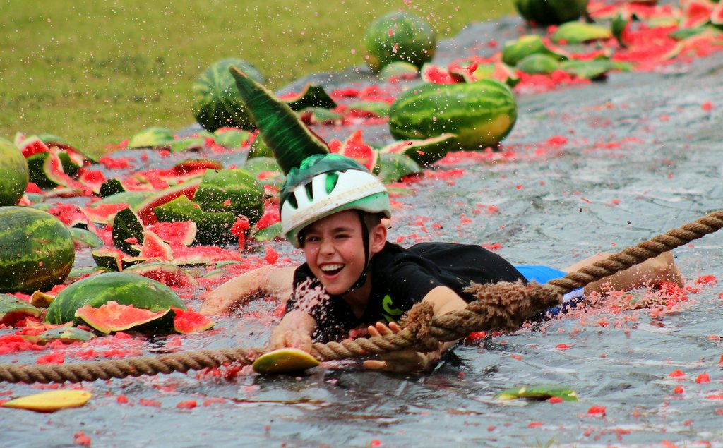 084c495cd Streets run red for Chinchilla Melon Festival - Eat