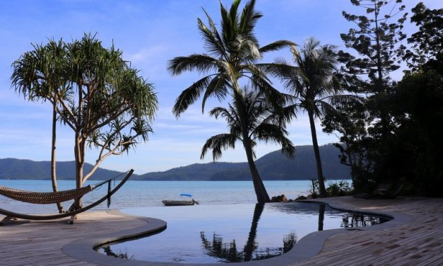 Great Barrier Reef island barefoot luxury at eco-friendly Elysian Retreat