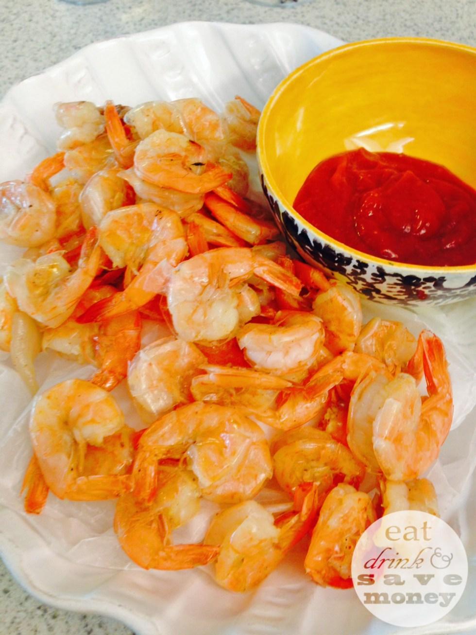 seafood feast boiled shrimp