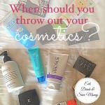 When should you throw out your cosmetics?