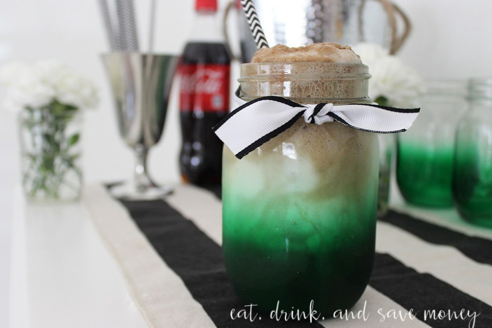 Coke floats