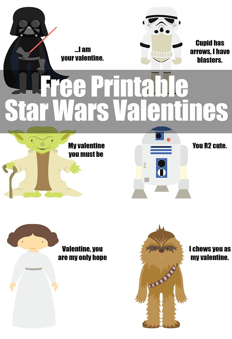 Robert's Star Wars Valentines