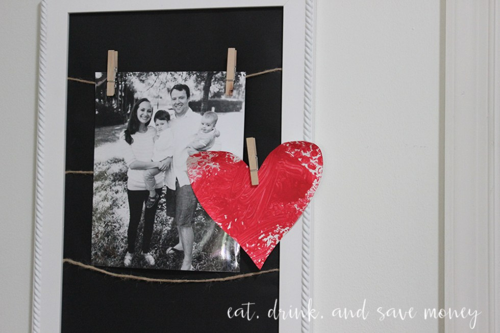 Valentine's Day Decor on a budget