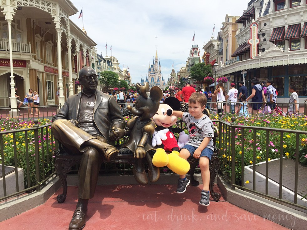 Robert and Giant Mickey