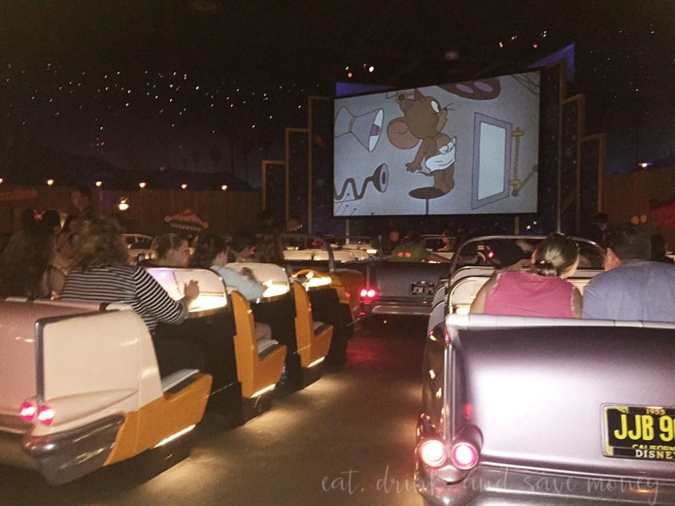 SciFi Diner at Disney World