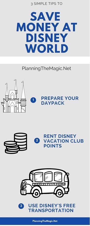 3 simple tips to save money at Disney World