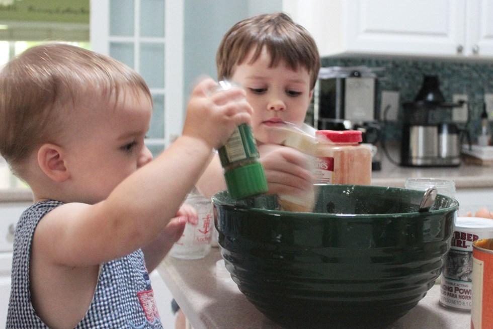 the-boys-bake-pumpkin-muffins