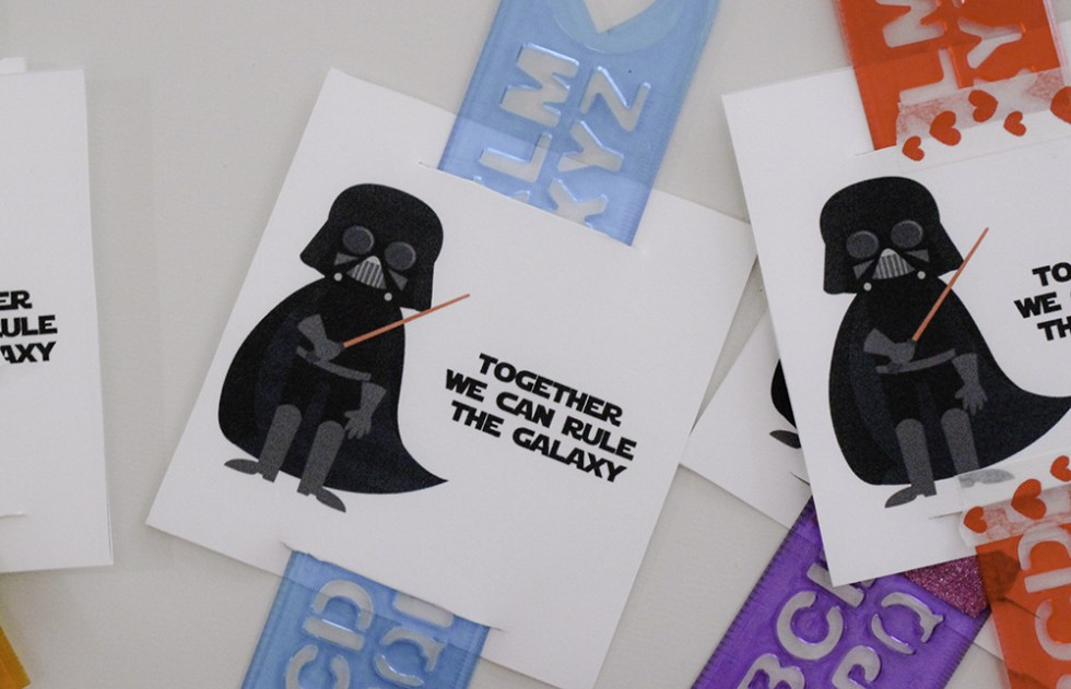 Celebrate Valentine's Day with these free printable Star Wars Valentines