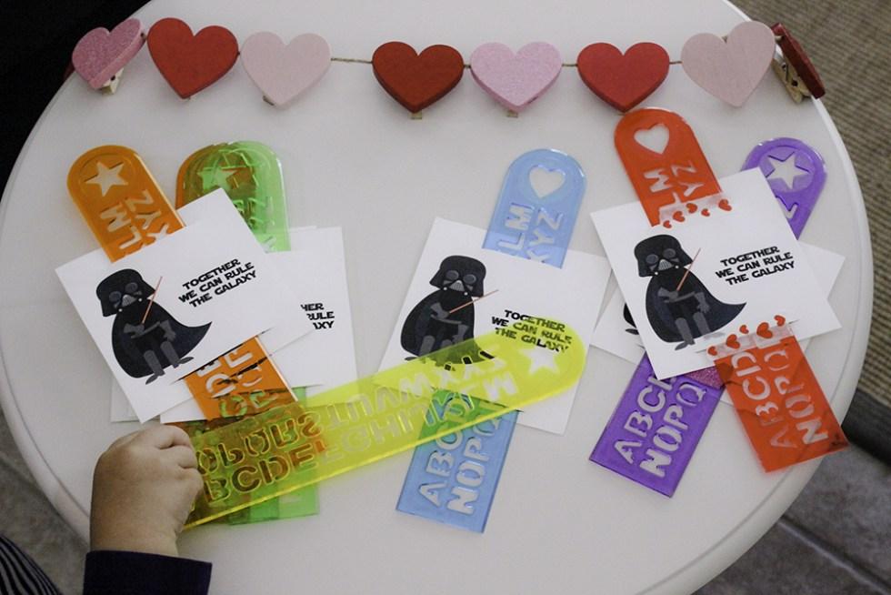 Print your own Star Wars Valentine Darth Vader Valentine