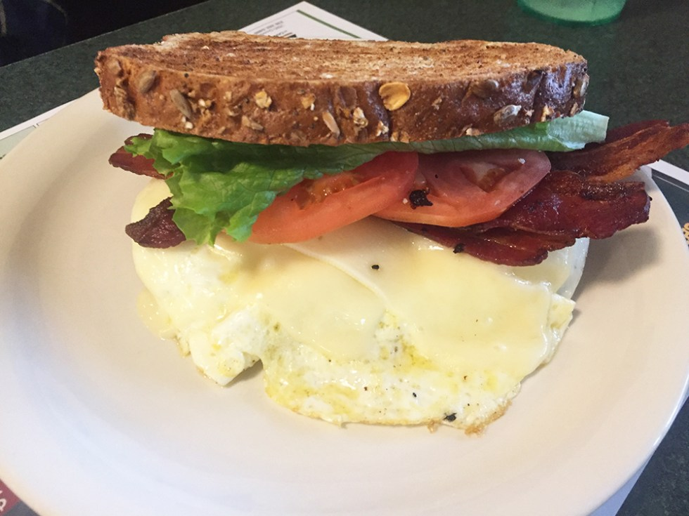 John SRs Breakfast Sandwich at Metro Grill
