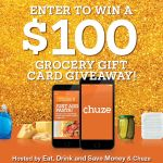 Win $100 to go Grocery Shopping with Chuze!