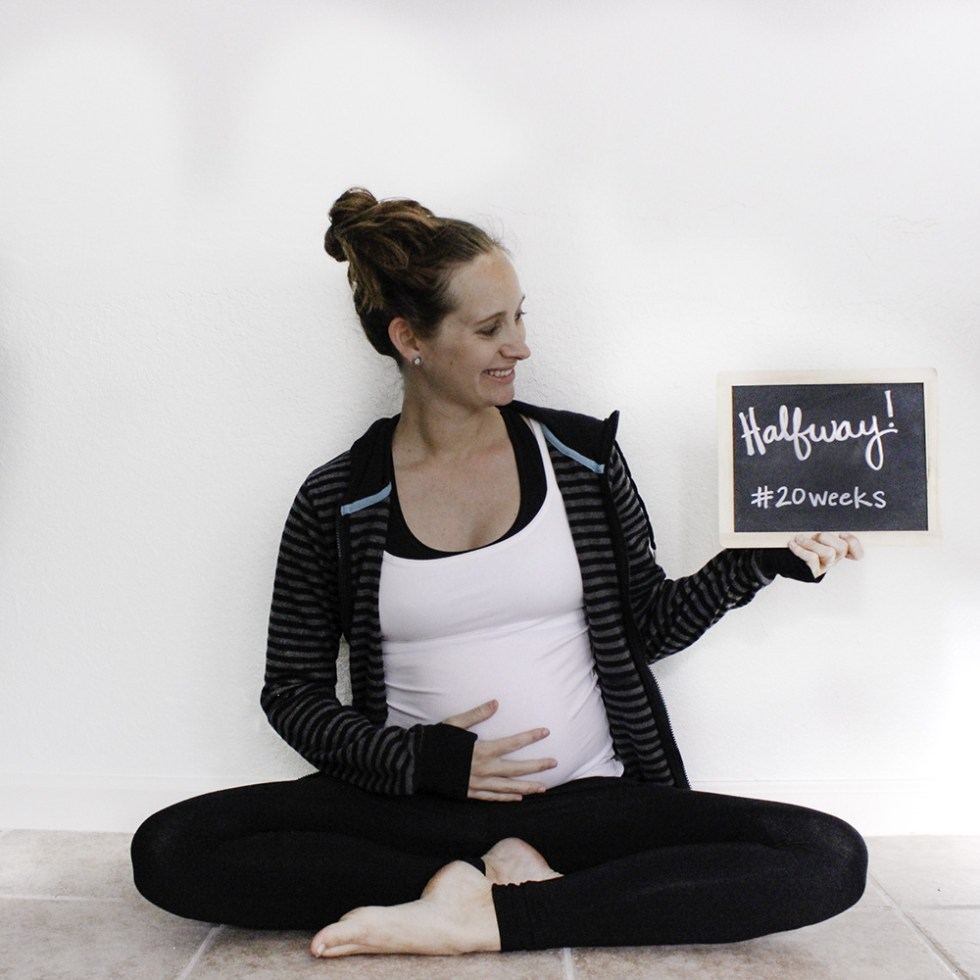 Pact organic clothing halfway mark 20 weeks pregnant