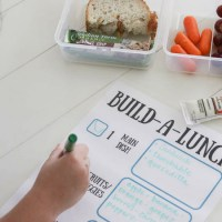 22 Easy Kindergarten Lunch Ideas + Build-a-Lunch Printable