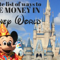 Save Money at Disney World with these Easy Hacks