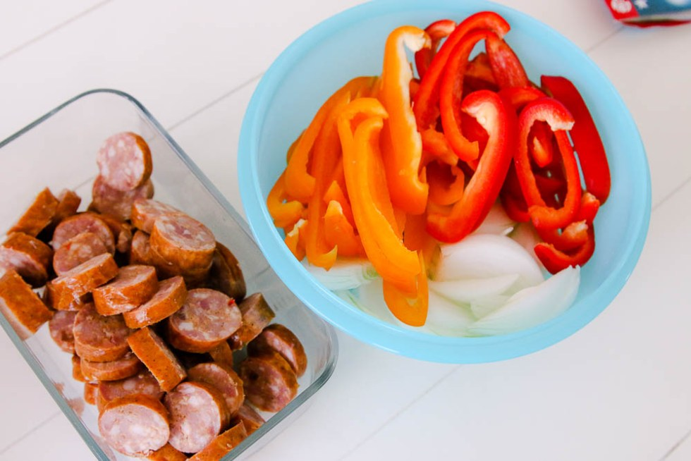sausage peppers and onions recipe