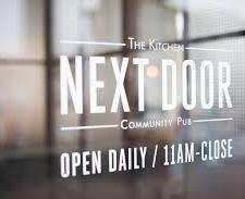 The Kitchen Next Door for Wine?