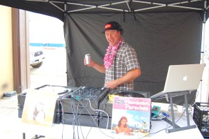 DJ WAY WAY is ready to funk you up in Old Town next Saturday. Photo by Rachel Dugas.