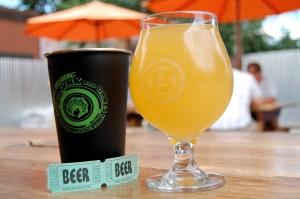 Odd13's anniverSoury ale Hawaiian Bartender