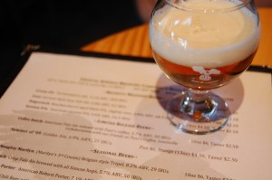 "Crystal Springs' ""Coffee Butch"" is a pale ale infused with Paul's Coffee of Louisville. Photo by Rachel Dugas."