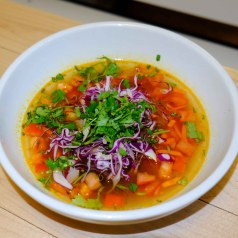 Lemongrass soup Freshii