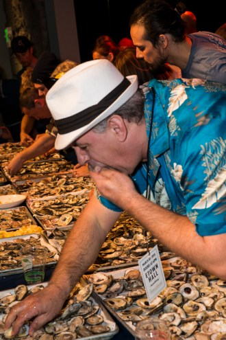 HWOF Oyster Eating Contest