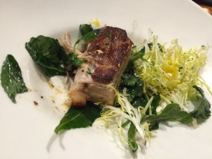 Kale Lardon with Pork Belly