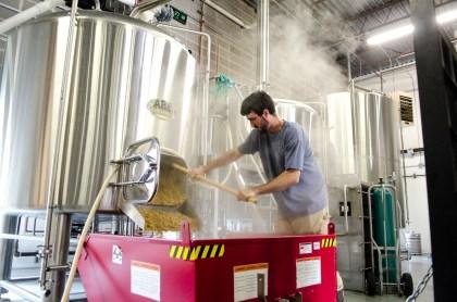 Odd13 head brewer Eric Larkin