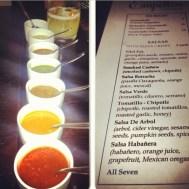 all seven salsa, please!