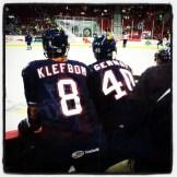 Klefbom and Gernat.