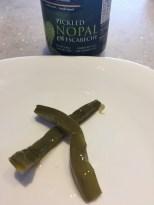 Pickled version of nopal