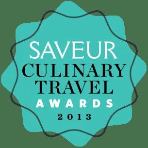 Saveur Culinary Travel Awards 2013