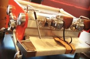 Dave's Coffee Providence Slayer espresso machine