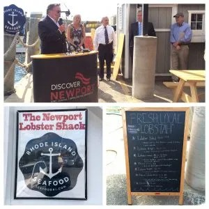 Grand Opening at the Newport Lobster Shack Kitchen
