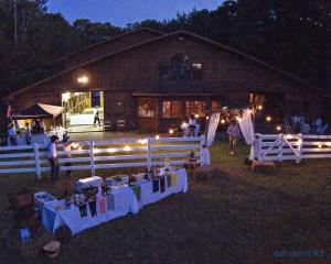 The barn at Horseshoe Farm