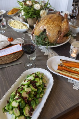 Easy Entertaining Thanksgiving, Photo Credit: David Dadekian, Eat Drink RI