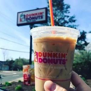 Dunkin' Donuts Iced Coffee. Photo by David Dadekian.