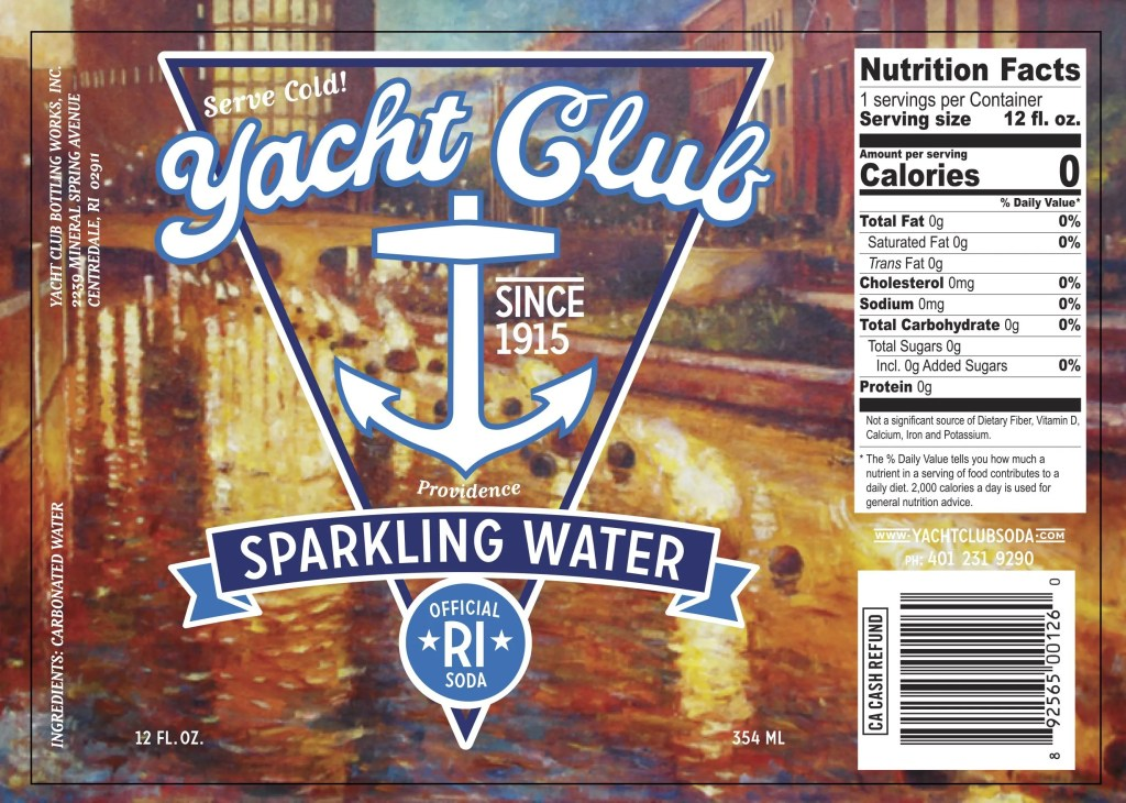 "Yacht Club Bottling Works Unveils New Label Artwork and a New Flavor ""Rhody Red"""