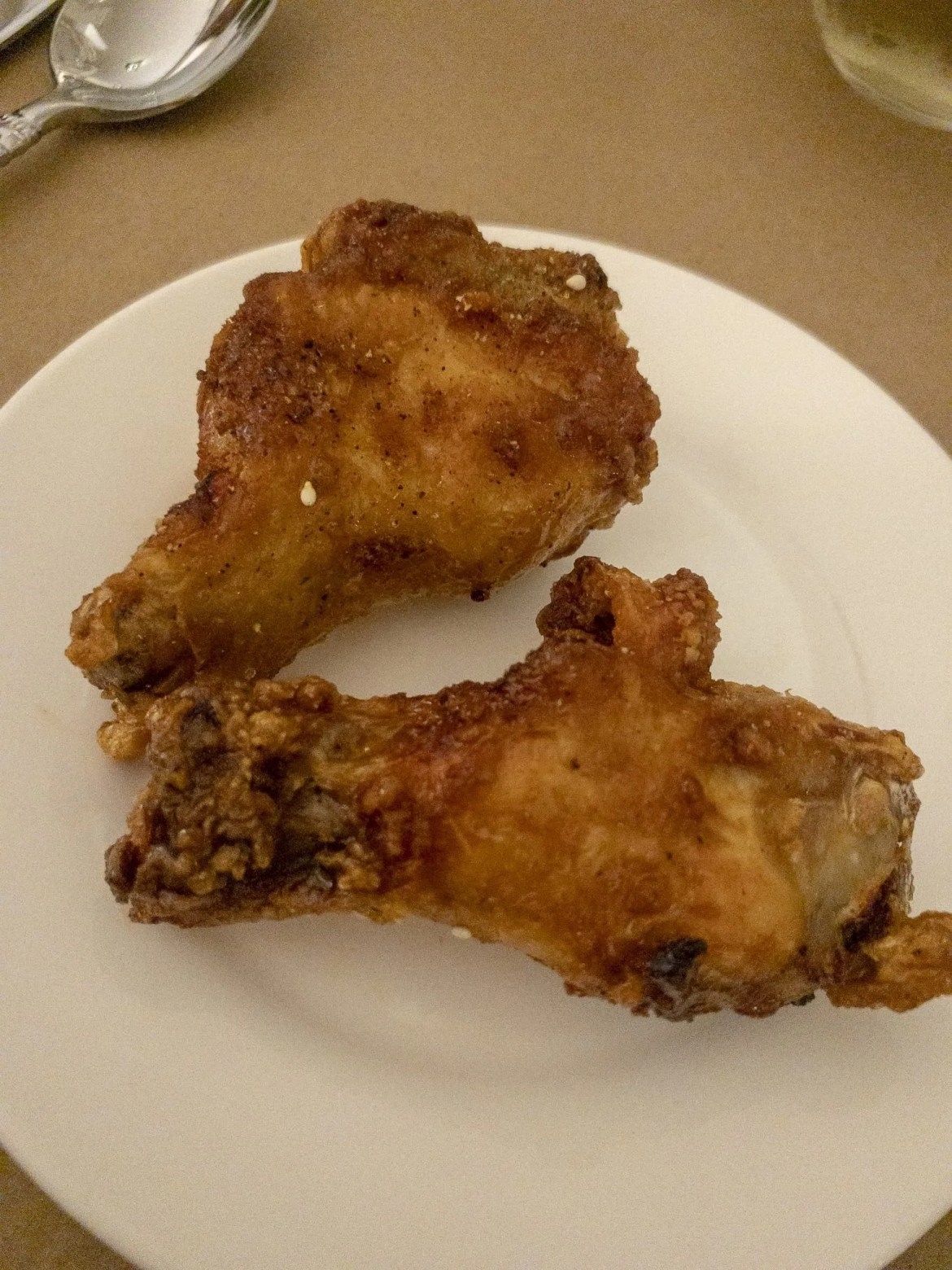 Maple Chili Wings