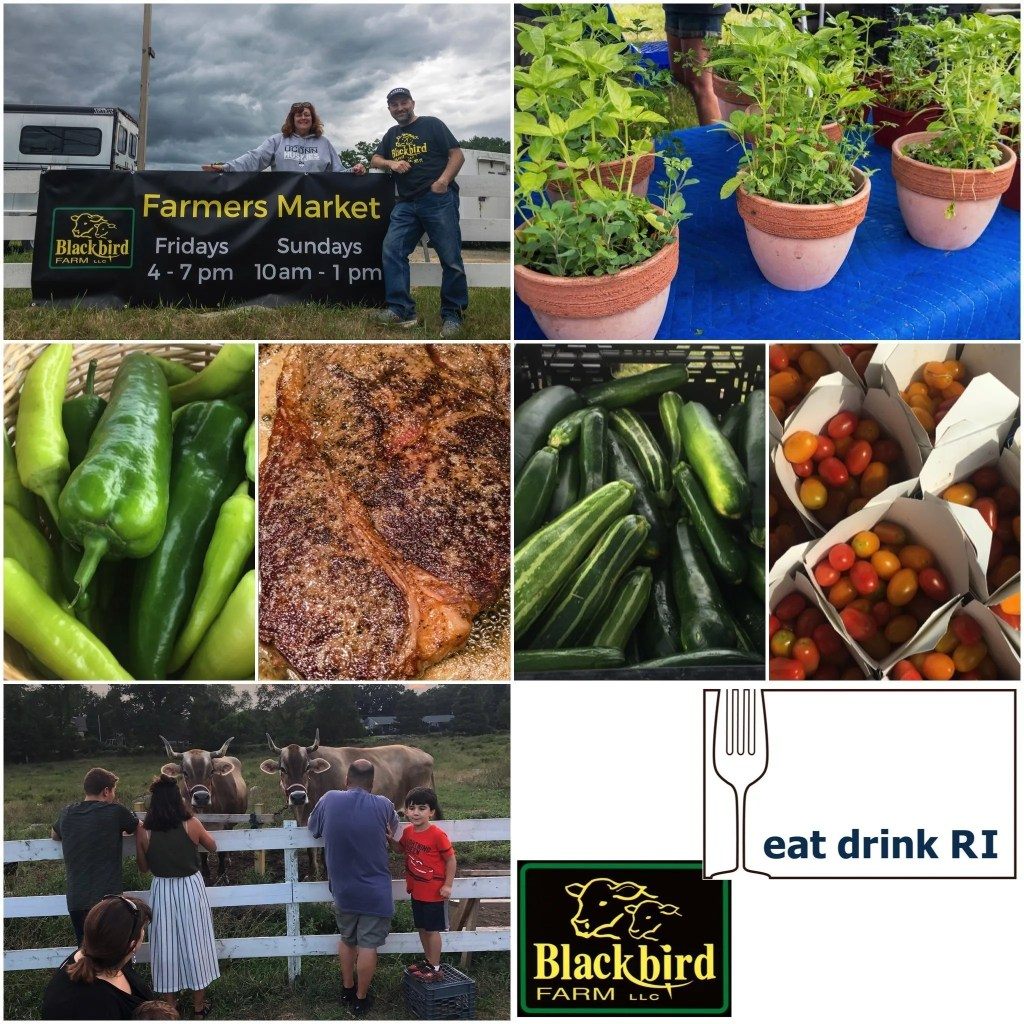 News Bites: Eat Drink RI Blackbird Farm Farmers Market Now Open / Urban Greens Grand Opening / Bar 'Cino Opens in Newport