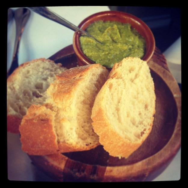 Pesto & Bread