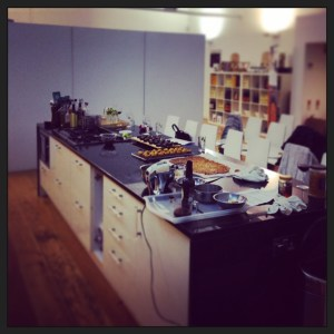 Kitchen Demo Area