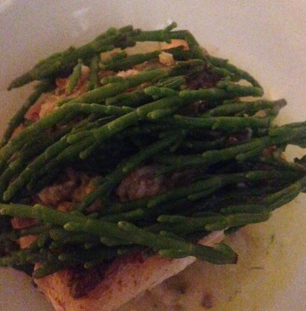Fillet of Hake with Samphire
