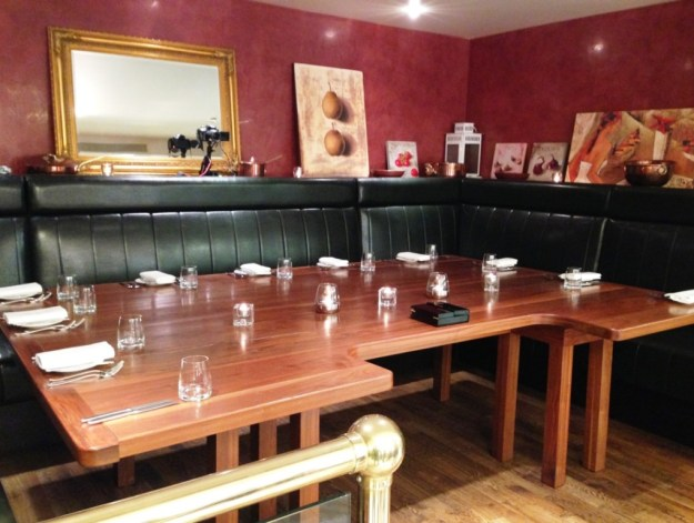 Chefs Table at Sika Restaurant